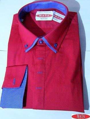 Camisa hombre rojo 16267