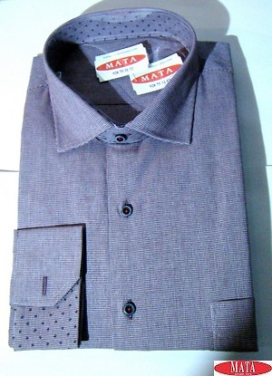 Camisa hombre morado 16270