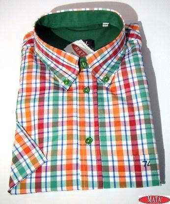Camisa hombre verde 16734