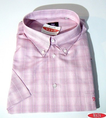 Camisa hombre rosa 16738