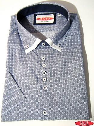 Camisa hombre azul marino 16850
