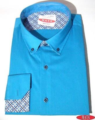 Camisa hombre azul 17022