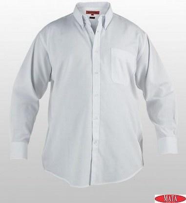 Camisa hombre blanco 17161
