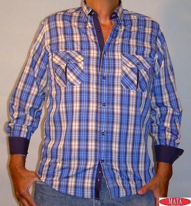 Camisa hombre tallas grandes 11594