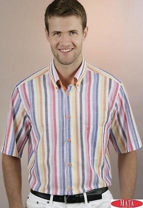 Camisa hombre tallas grandes 13910