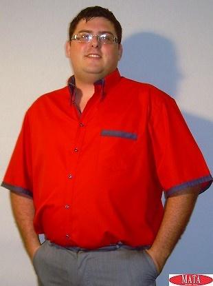 Camisa hombre tallas grandes 14067