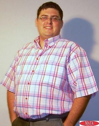 Camisa hombre tallas grandes 14071