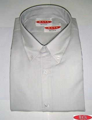 Camisa hombre gris claro 15670