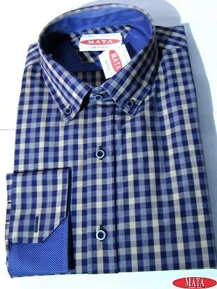 Camisa hombre tallas grandes 16275