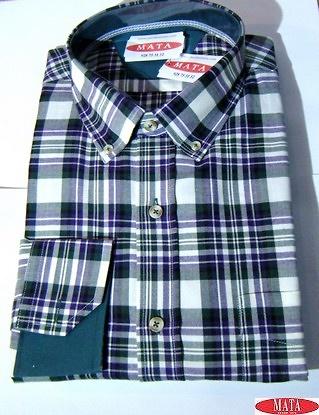 Camisa hombre tallas grandes 16277