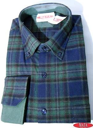 Camisa hombre tallas grandes 16278