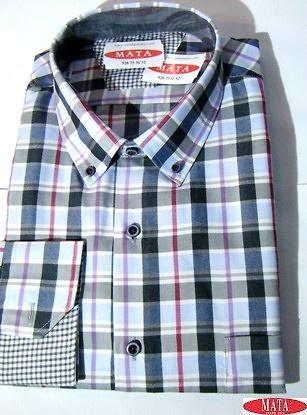 Camisa hombre tallas grandes 16279