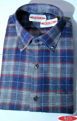 Camisa hombre tallas grandes 16281