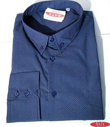 Camisa hombre marrón 16544