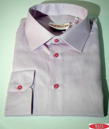 Camisa rosa hombre tallas grandes 16739