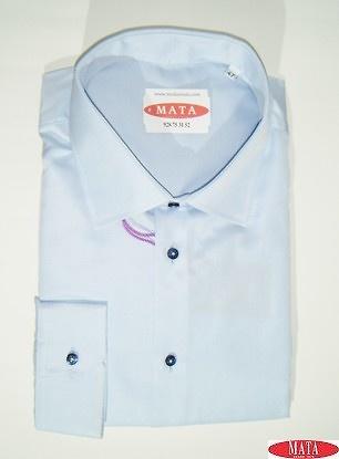 Camisa hombre celeste 16739