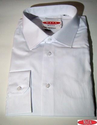 Camisa hombre blanco 16739