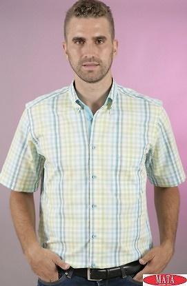 Camisa hombre tallas grandes 16846