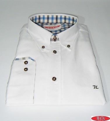 Camisa blanco 17451