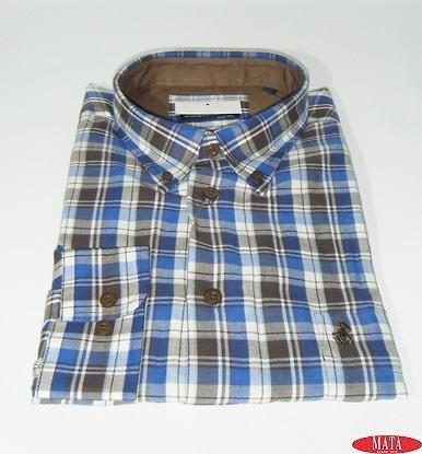 Camisa hombre tallas grandes 17656