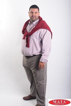 Camisa hombre tallas grandes 19039
