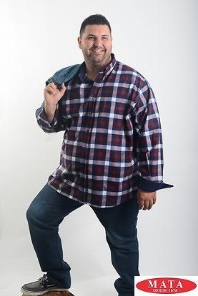 Camisa hombre tallas grandes 19040