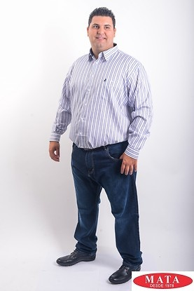 Camisa hombre tallas grandes 19192