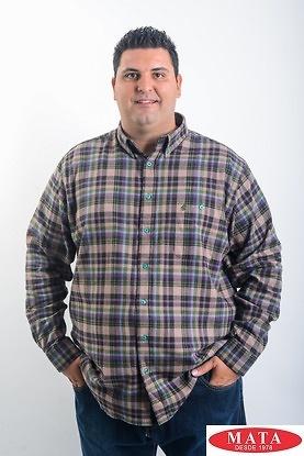 Camisa hombre tallas grandes 19193