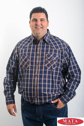 Camisa hombre tallas grandes 19206