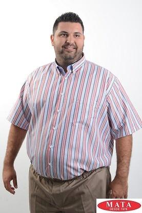Camisa hombre tallas grandes 19240