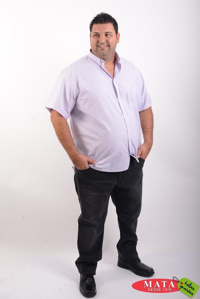 Camisa hombre tallas grandes 20435
