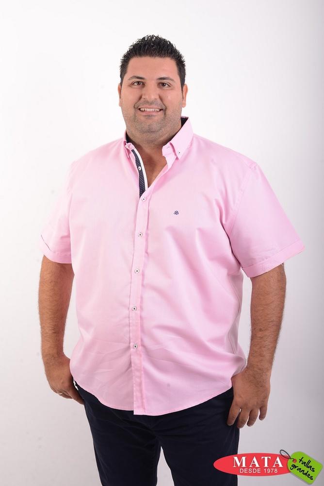 Camisa hombre tallas grandes 20436