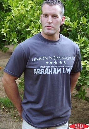 Camiseta hombre VARIOS COLORES tallas grandes 10334