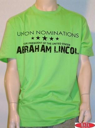 Camiseta verde 10334