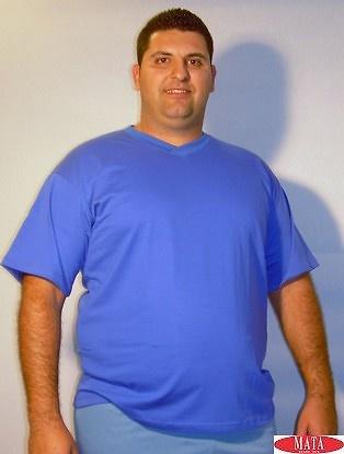 Camiseta varios colores tallas grandes 01143
