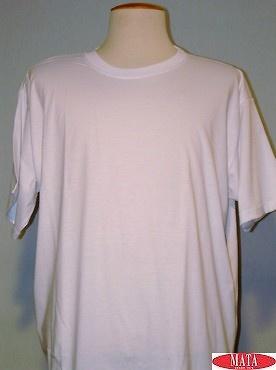 Camiseta hombre blanco 01144