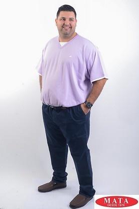 Camiseta MALVA hombre tallas grandes 04498