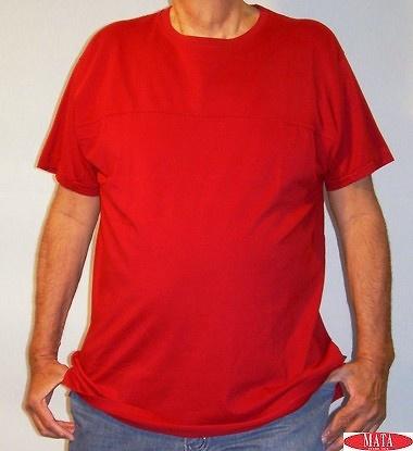 Camiseta tallas grandes hombre 07408