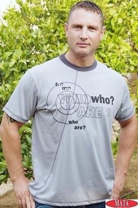 Camiseta hombre VARIOS COLORES tallas grandes 10339