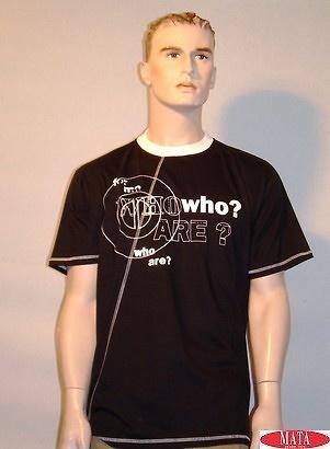 Camiseta negro 10339