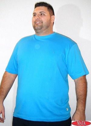Camiseta hombre azul 16841