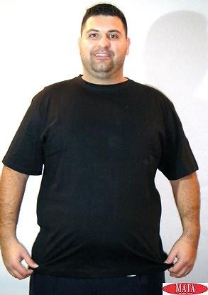 Camiseta hombre negro 16841