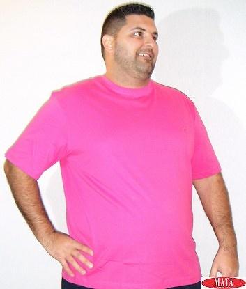 Camiseta hombre fucsia 16841