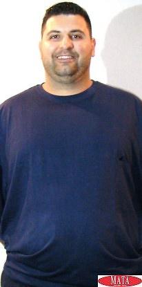Camiseta hombre azul marino 16841