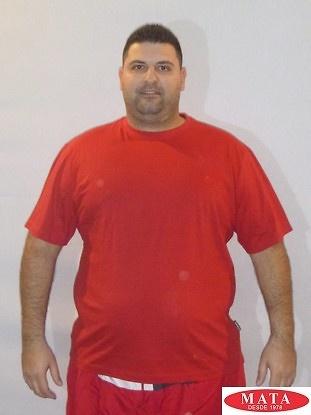 Camiseta rojo 16841