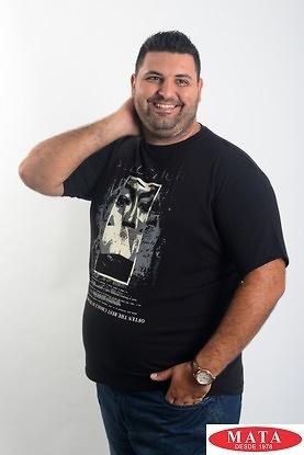 Camiseta hombre tallas grandes 19060