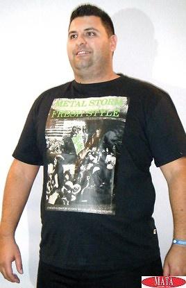 Camiseta hombre tallas grandes 16620