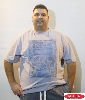 Camiseta hombre tallas grandes 18771
