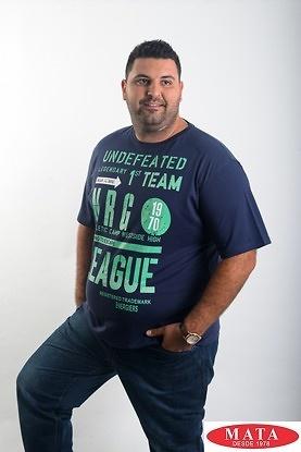 Camiseta hombre tallas grandes 19050