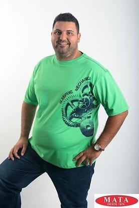 Camiseta hombre tallas grandes 19051